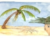 South Pacific Palm Fronds