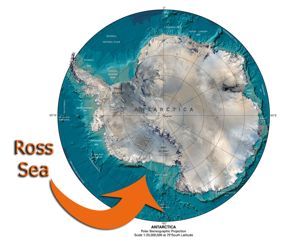The Antarctic Summer of 2013-2014 will find me exploring the Ross Sea.