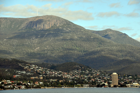 Hobart the capital city of Tasmania