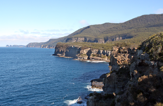 Southeastern coast of Tasmania.
