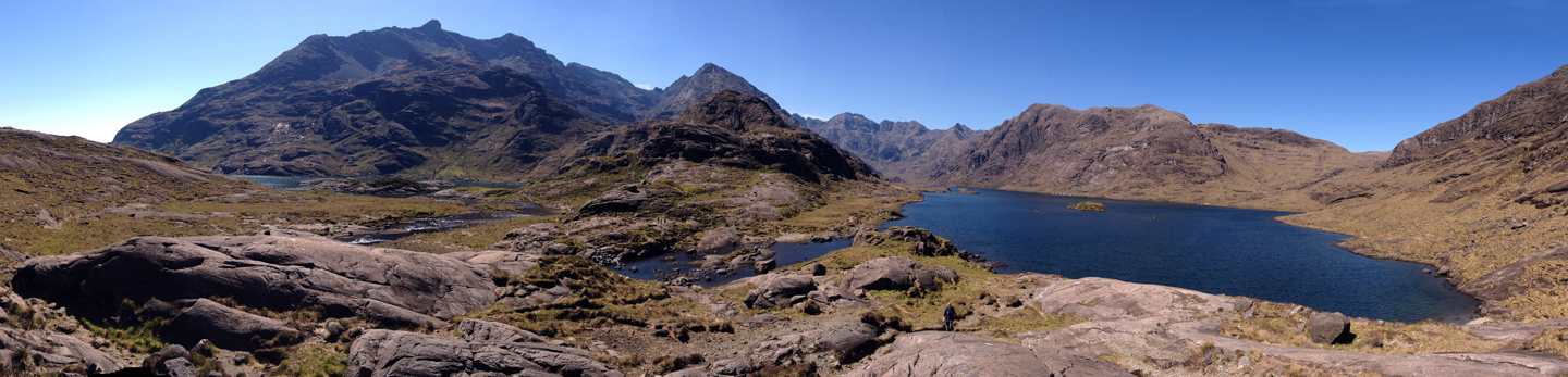 I hiked up to overlook this incredible loch or lake on the Isle of Skye.  The sculpting of glaciers is all around here.