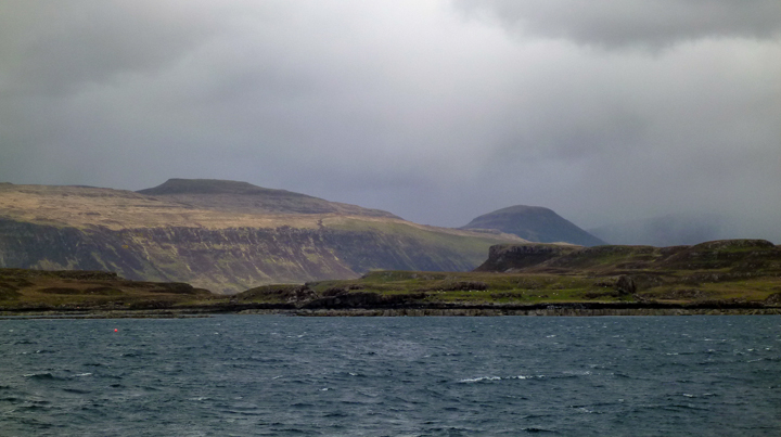Isle of Skye in between hail storms.