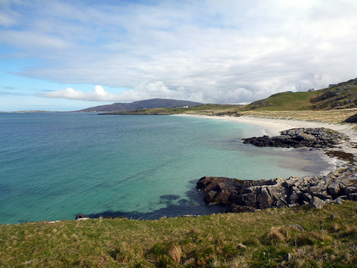 Eriskay, a tiny island connected by causeway to South Uist