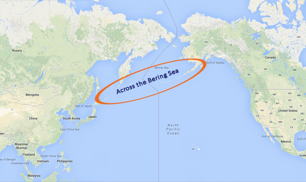 The second of three expeditions crosses the Bering Sea while exploring the Aleutian Islands and the Central Alaskan Coast.