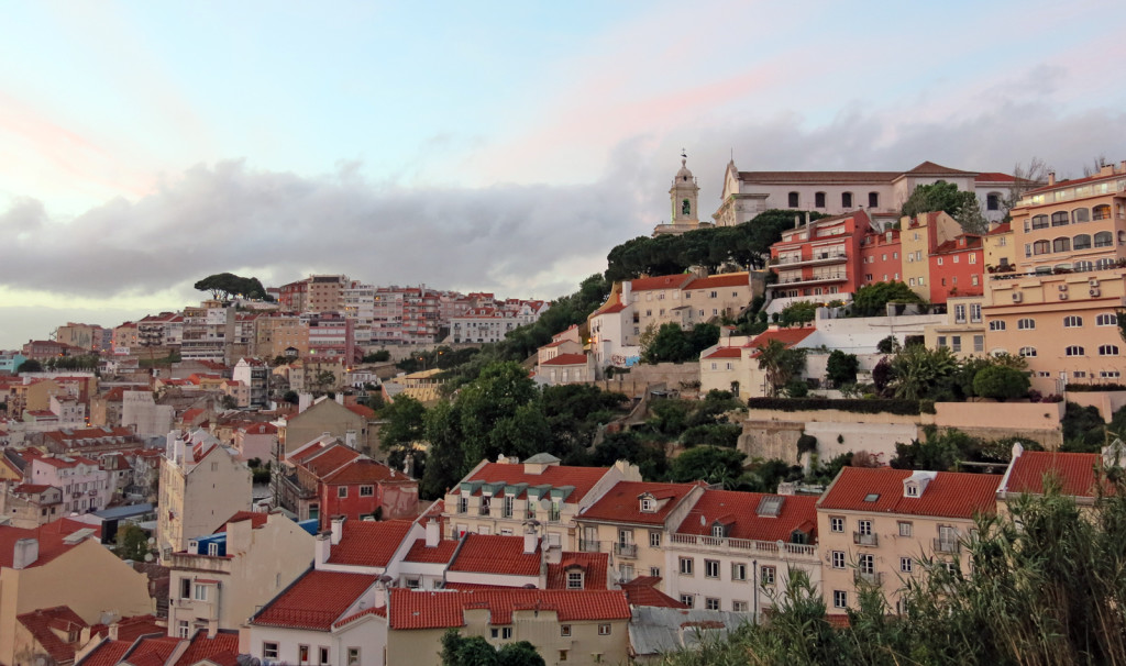 Lovely Lisboa in the sunset.