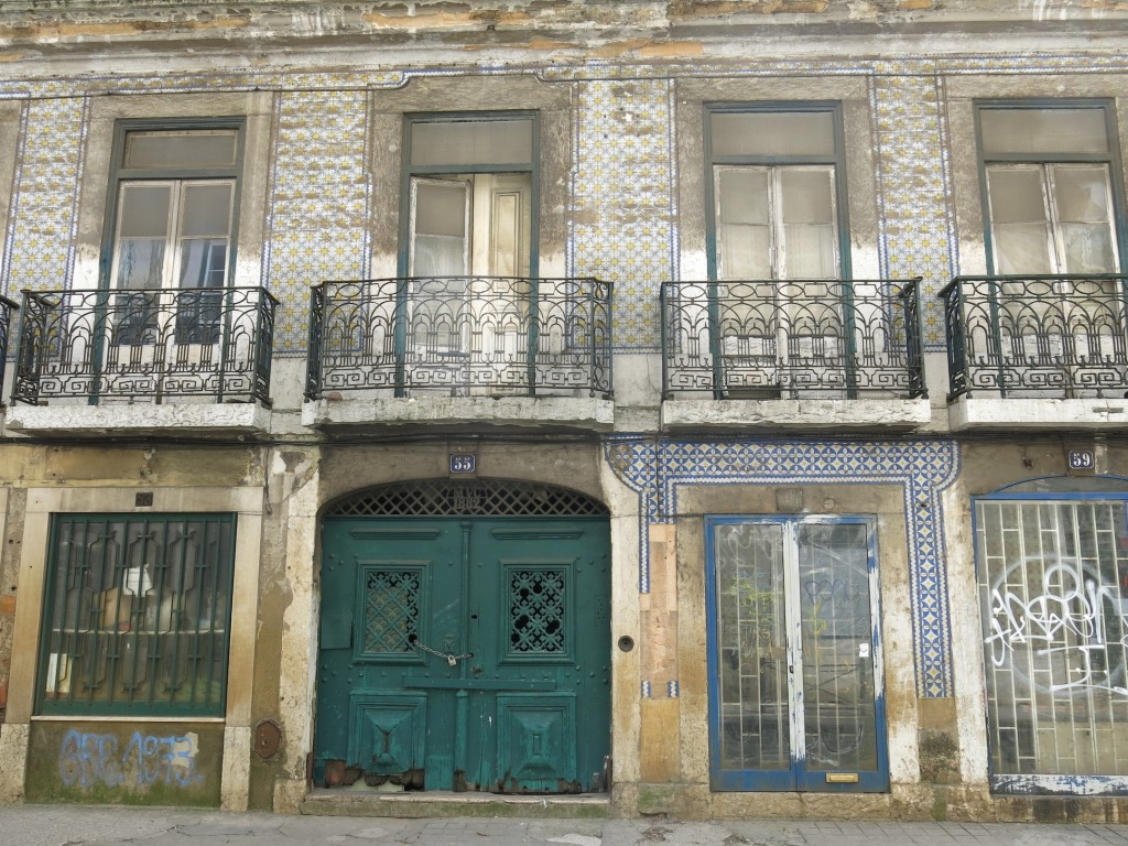 Looking a little rough, parts of Lisbon are in need of a little TLC.