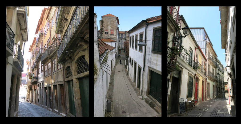 It would be easy to get lost in Porto's backstreets.